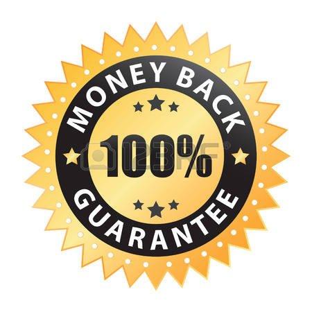 6168626-100-money-back-guarantee-label Hanging Basket Liners