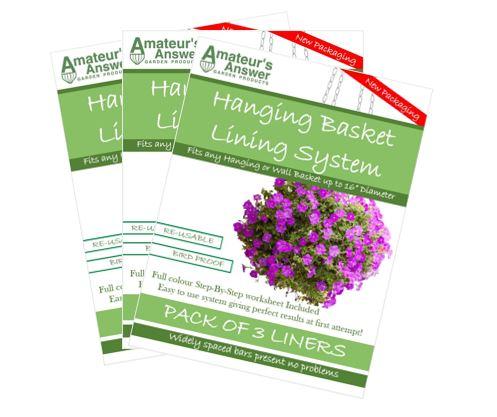 HBLiners-3-packs Hanging Basket Liners